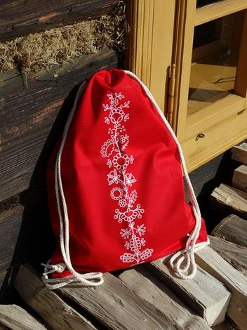 folk batoh rostlina červená