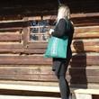 folk taška zelená 2