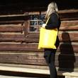 folk taška žlutá 2