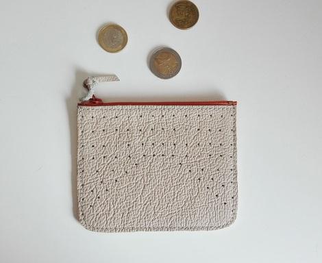 malá peněženka béžová