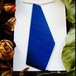 PIECE OF WOOD_Nahrdelník modrý tisk