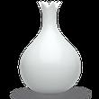 Váza Cibulka bílá - TABLO